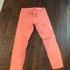 Gap coral jeans